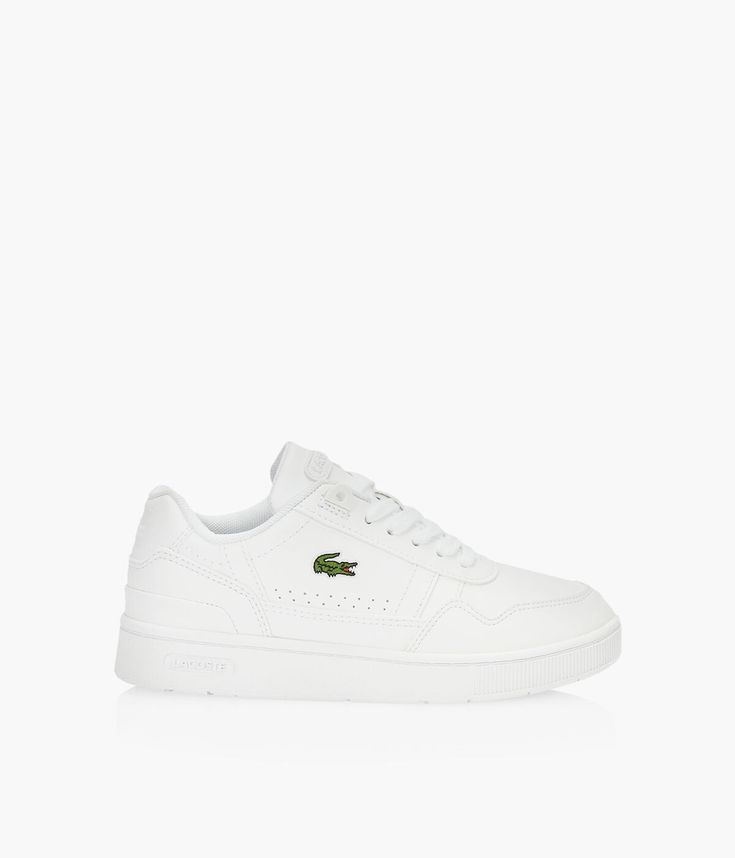 LACOSTE T-CLIP 0121.1 - White   BrownsShoes in 2021   Lacoste ...