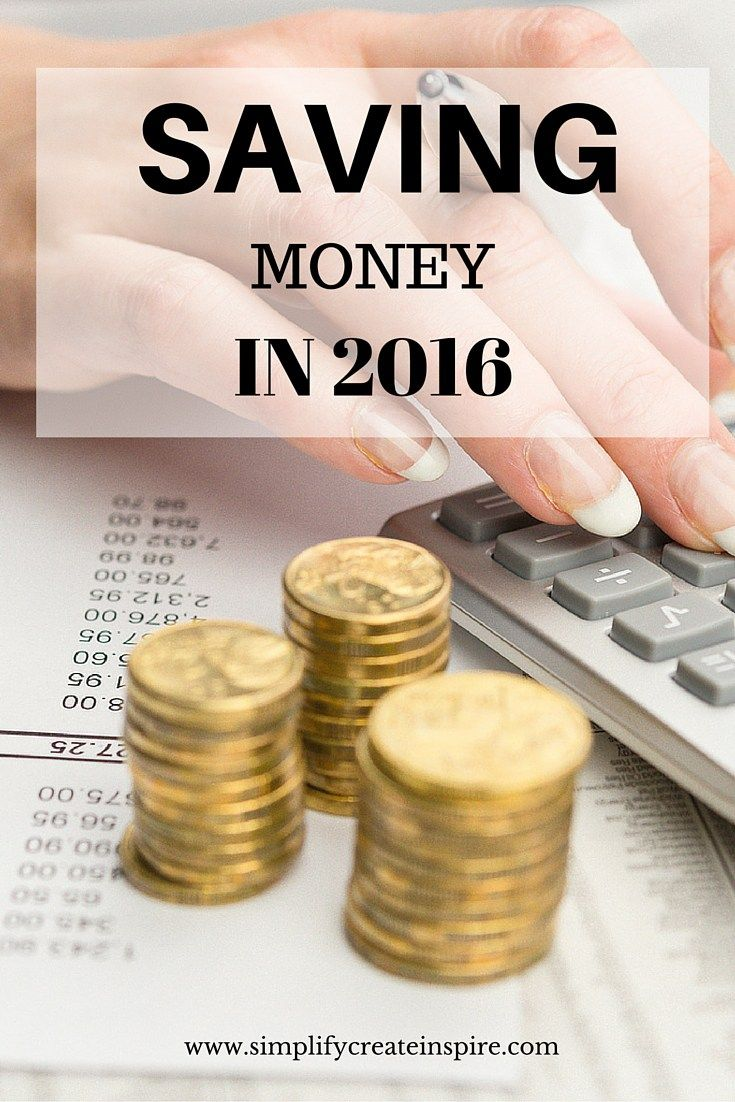 Saving money in 2016 - ideas and tips