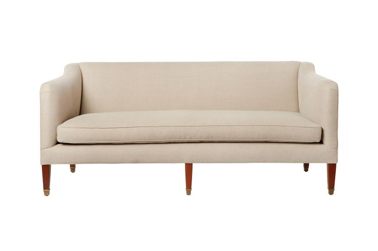 Cove sofa Cisco brothers available upholstered or slipcover