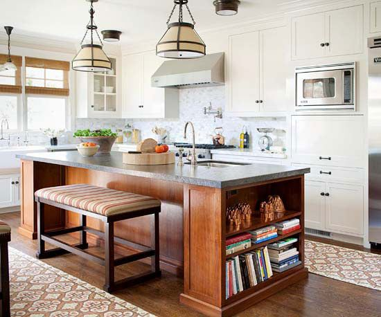 Mismatched Cabinets