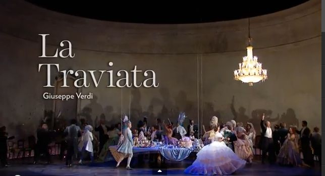 One of opera's greatest romances, La Traviata