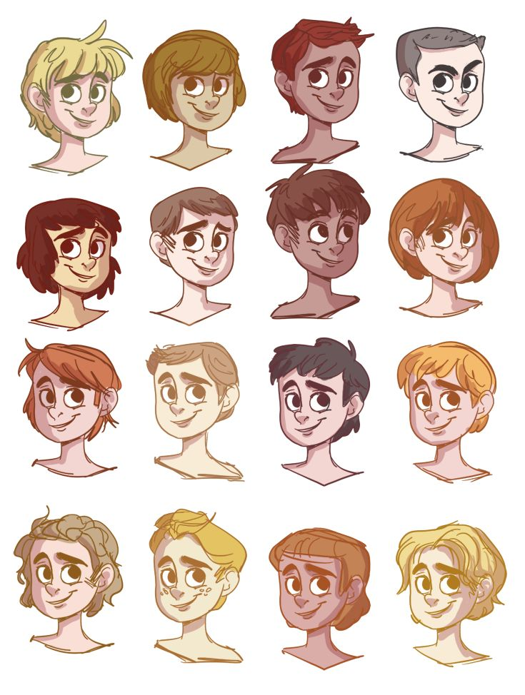 119 best images about Hair and head reference on Pinterest