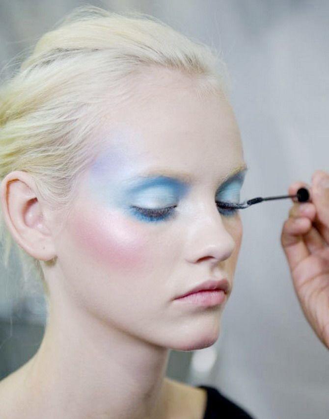 Pastel makeup x