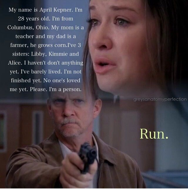 One Of Those I Hate April Kepner Moments. Greys Anatomy ...