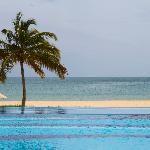 Uga Bay Resort, Pasikudah, East Coast - view from the pool