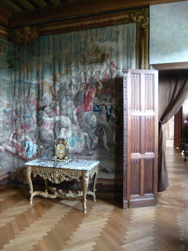 Carved furniture   Castle interior