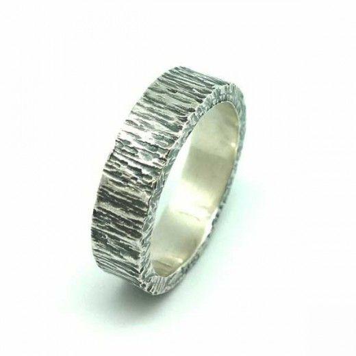 Anillo Plata de Ley Hombre / Ring Sterling Silver For Men                                                                                                                                                                                 Más