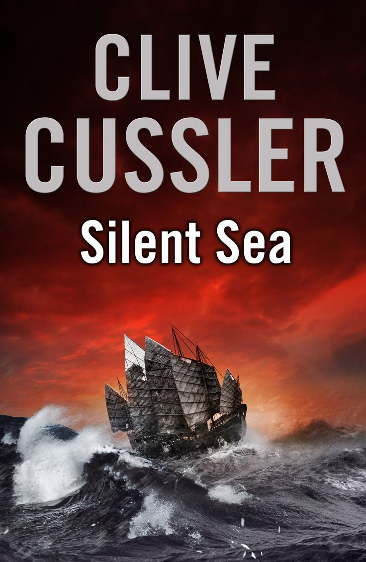 Silent Sea  A Clive Cussler Novel In The Oregon Files Series Uk Cover  Artwork
