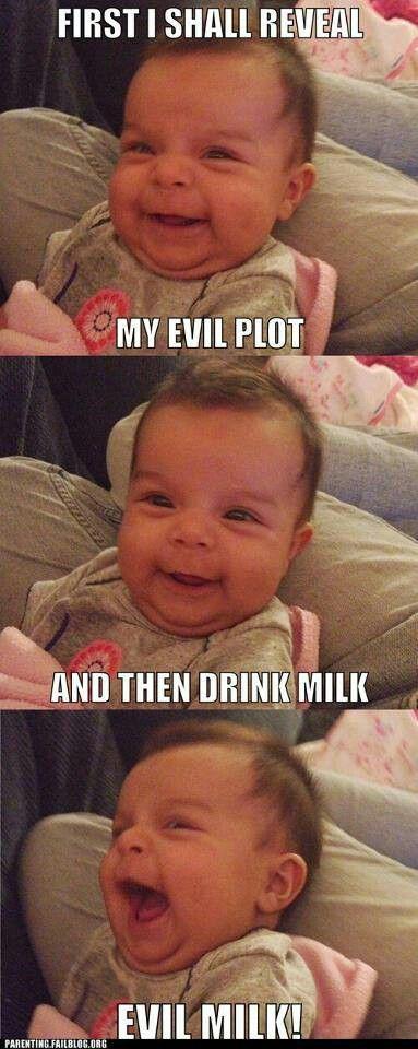 evil. milk. plot