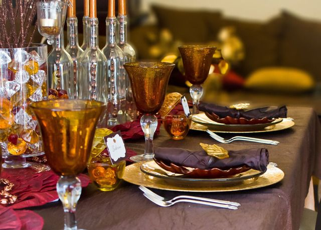 Decorating Ideas > ThanksgivingFall Party Ideas  Thanksgiving Holiday  ~ 075812_Thanksgiving Village Decorations