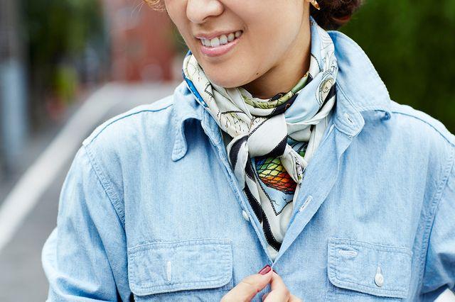 毎日新聞連動企画~スカーフの今年らしい巻き方を教えて!~《その2》 | ASK & ANSWER [お悩み相談室] FASHION | mi-mollet(ミモレ) | 講談社