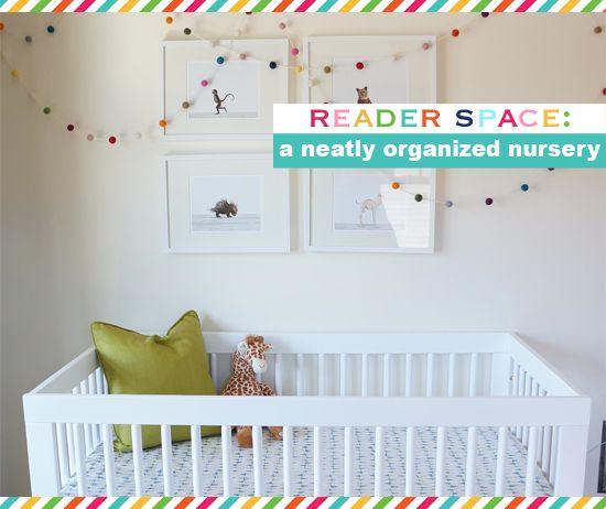 IHeart Organizing: Reader Space: A Neatly Organized Nursery