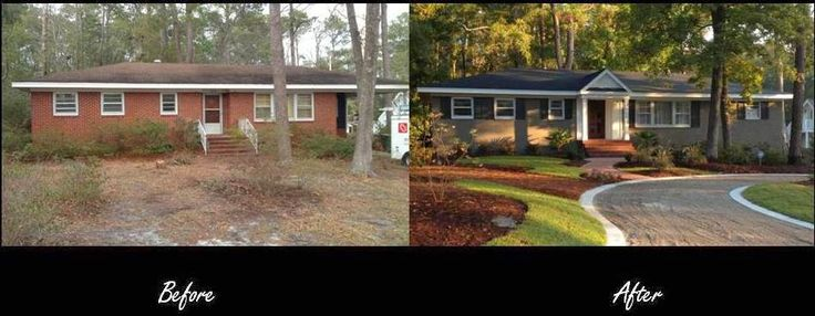 Painting Brick Ranch Style House Brick Ranch Style Homes This Is A Personal House That