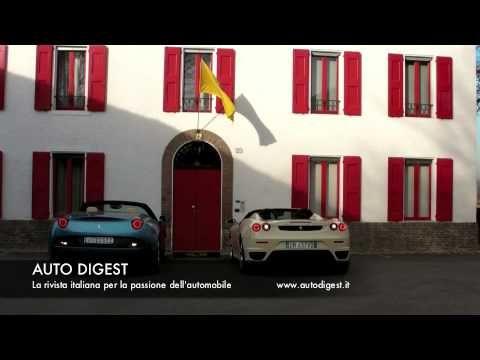 "The sound of Ferrari California & F430 Spider in ""Start Up"""