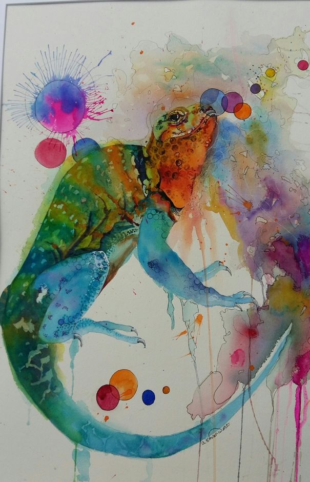 O K Change Colour By Angela Emsen West Irish Art Watercolor