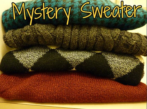 Random Vintage Hipster Sweater by RealRebel on Etsy, $14.99