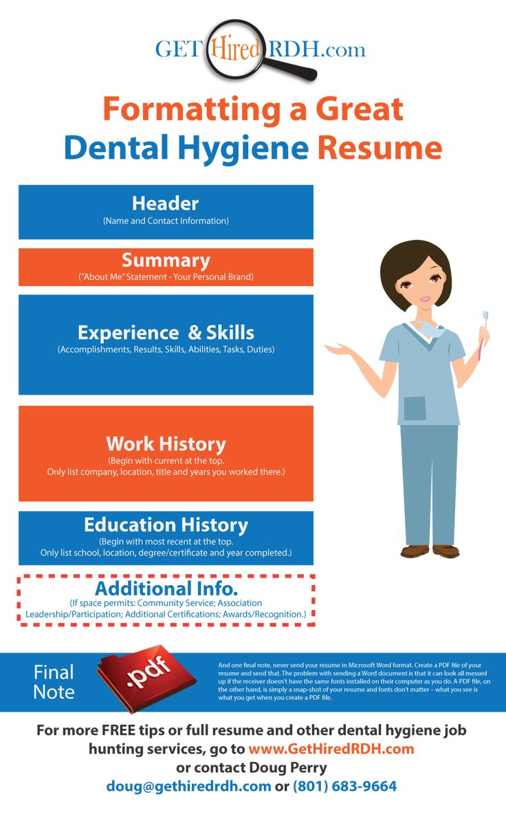 158 best rdh job hunting tips images on pinterest