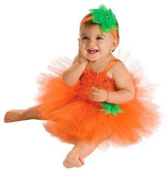 Rubie's Costume Co Newborn Baby-girls Pumpkin Tutu Dress