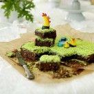 Kärleksmums med vårgrön gräsmatta - Recept från Mitt kök - Mitt Kök   Recept   Mat   Vin   Öl