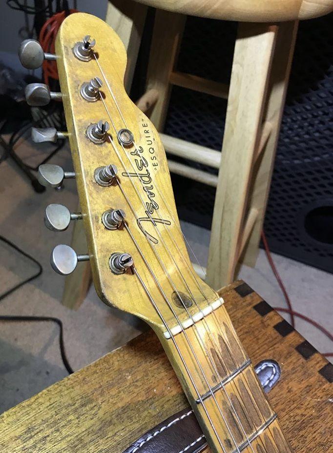 1950 Fender Esquire Vintage Telecaster Fender Telecaster Fender Vintage