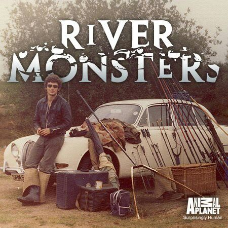 A young jeremy wade river monsters fanatic pinterest for Jeremy wade fishing rod