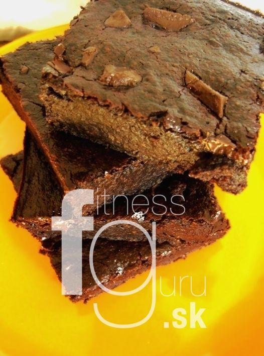 Najlepší čokoládový brownies bez múky
