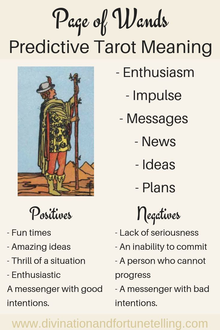 Future tarot meanings page of wands tarot meanings