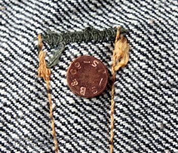 Fellowes /PHERROW'S(PHERROWS) original straight jeans [421 ...