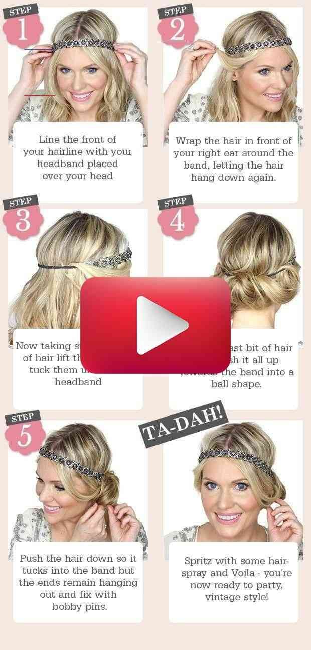 Picture Result For 1920s Hairstyles For Long Hair Tutorial 1920s 1920s Fris 1920slong In 2020 Long Hair Tutorial Hair Tutorial Long Hair Styles
