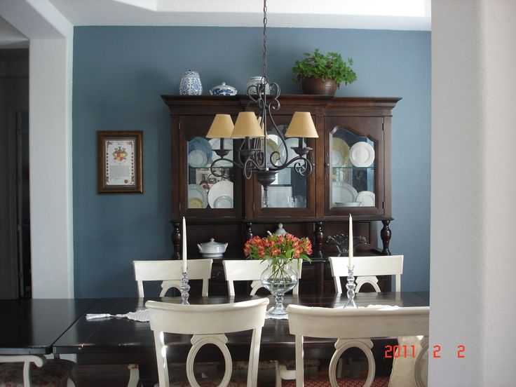 paint colors for dining room with chair rail paint color