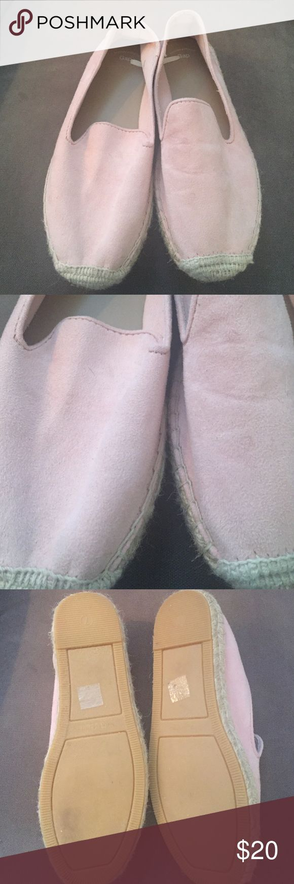 :: pink espadrilles:: In good used condition. Size 7. GAP Shoes Espadrilles