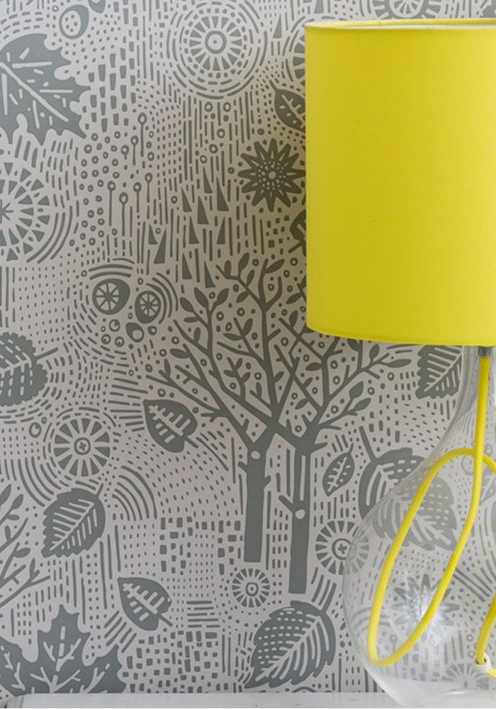 Wallpaper Autumn - Soft Grey by Bold & Noble at BODIE and FOU — Bodie and Fou - Award-winning inspiring concept store