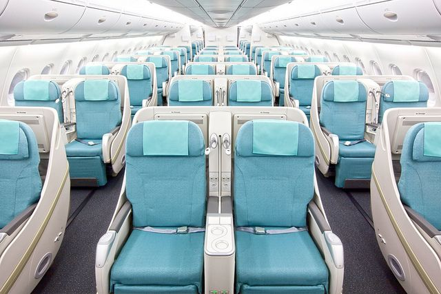 Korean Air A380 Prestige class2(upper deck) by Korean Air KE, via Flickr