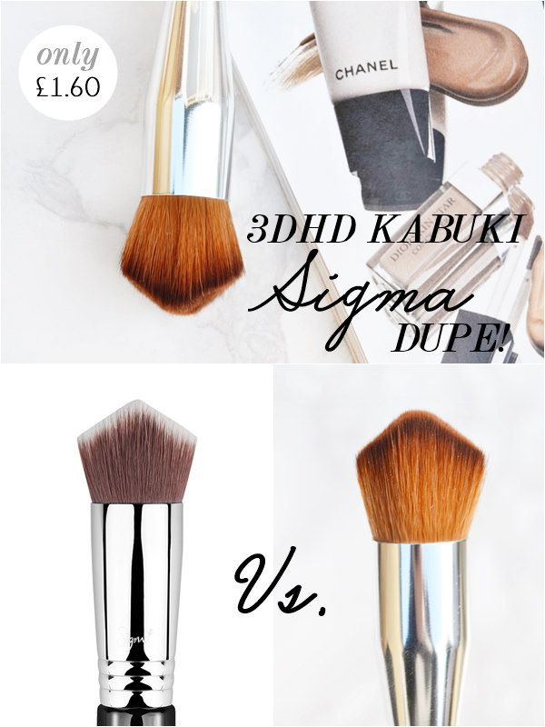 Sigma Beauty Best Of Sigma Beauty Brush Kit 122 Value: 3DHD Kabuki Sigma Brush Dupe! (Makeup Savvy)