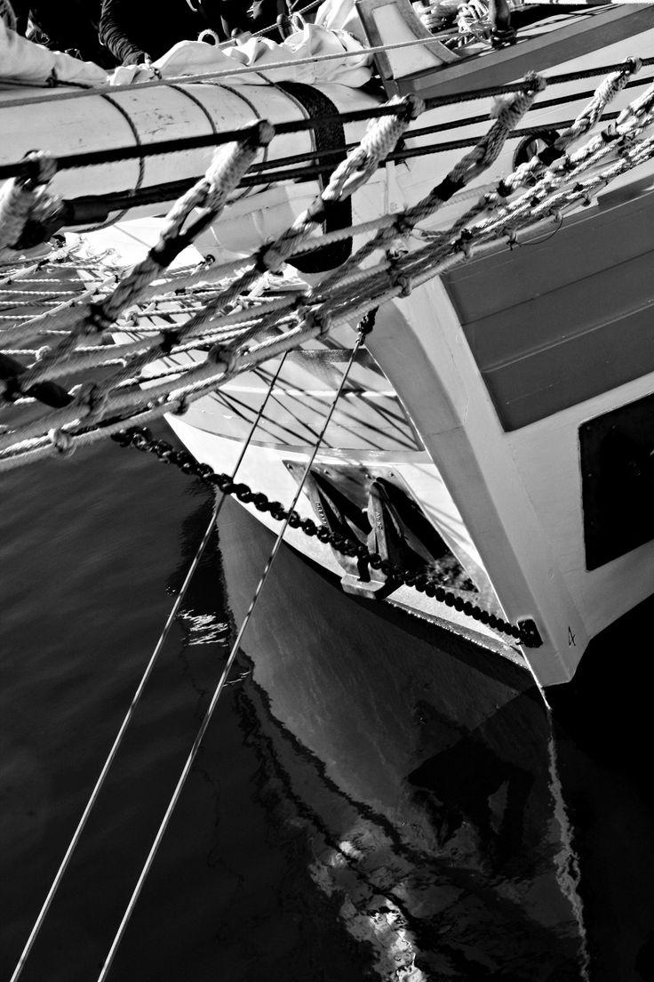 Old sailing boat Hobart Tasmania