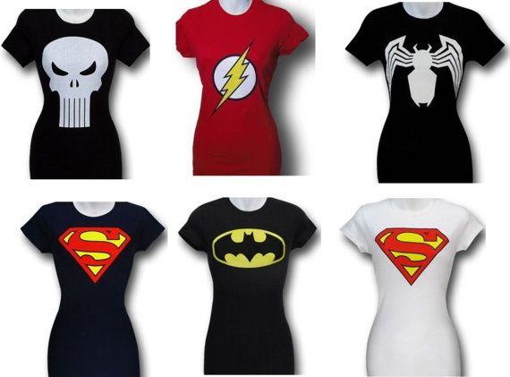 Womens Superhero Shirts