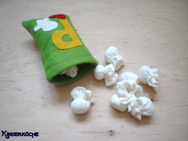 Kinderküche - Popcorn aus Filz