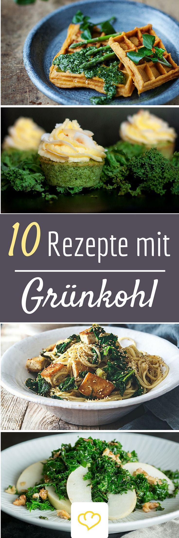 Grünkohl kann mehr als nur Eintopf! 10 tolle Food-Blogger Rezepte, die deine Kohlliebe neu entfachen lassen!