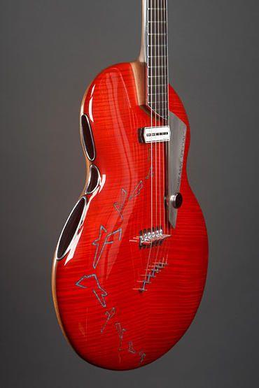 alquier luthier fabricant de guitares electriques et acoustiques | la AirMail ❤ DiamondB! Pinned ❤