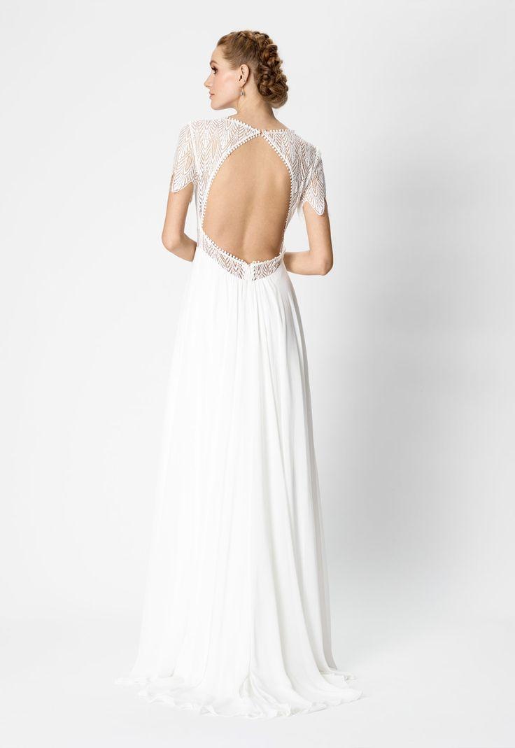 Vestido de novia Rembo Styling Modelo Alice Blue - Eva Novias