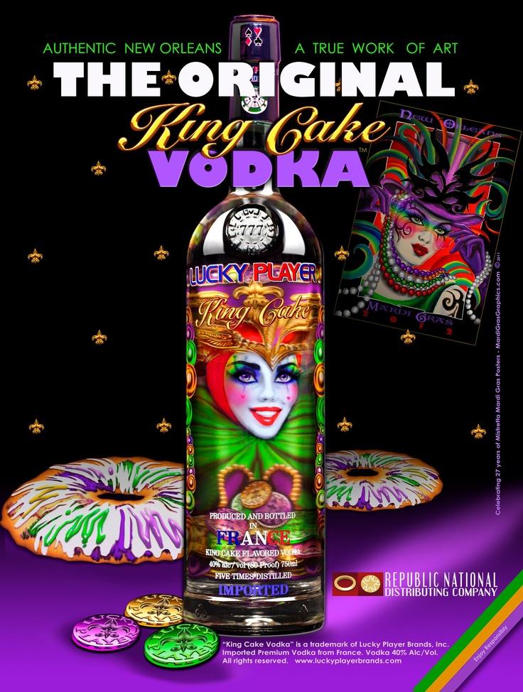 King Cake Flavored Vodka Recipes