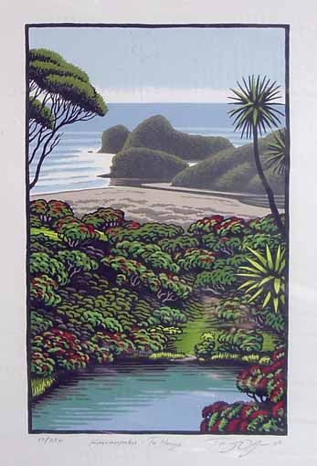 Kawaupaku, Te Henga by Tony Ogle