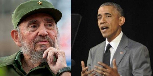 Fidel Castro responde discurso Obama en Gran Teatro de La Habana