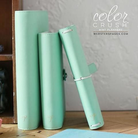 Webster's Pages Color Crush Travelers Notebook (Mint)
