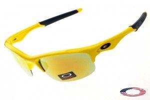 Knockoff Oakley Bottle Rocket sunglasses Yellow / Fire Iridium