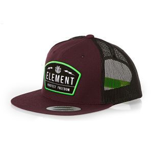Casquettes Element - Casquette de Camionneur Protect Cap Element - Oxblood