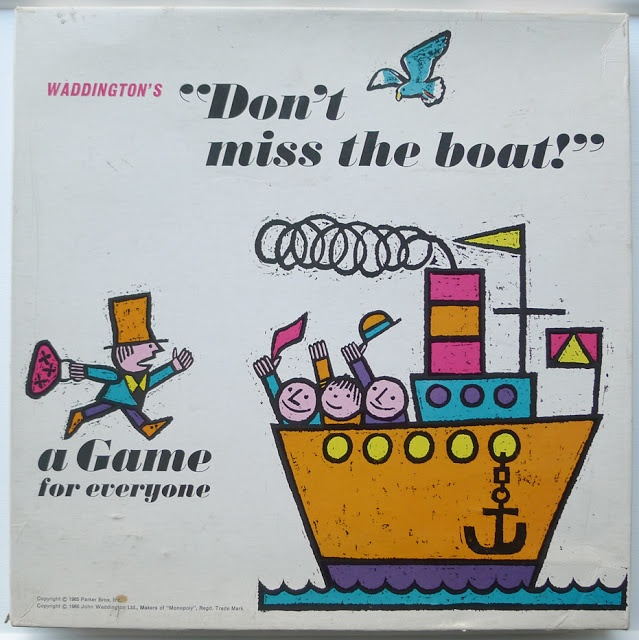 Don't miss the boat game by waddingtons from roddy & ginger blog