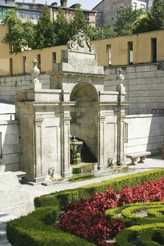 Fonte das Burgas. Ourense. Galicia. Spain.