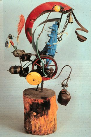 Jean Tinguely, 1925–1991, was a Swiss painter and sculptor. He is best known for his sculptural machines ...