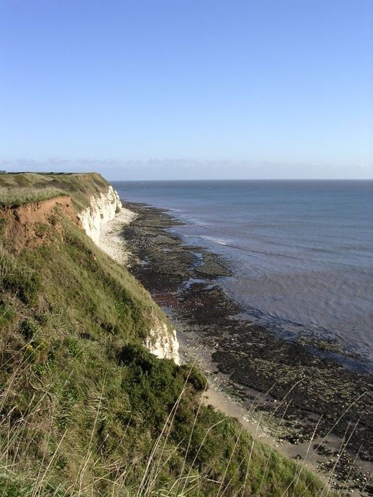 The cliffs in Whitby, why not join us on our Whitby walk on Saturday 12th May 2012.